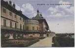 AK Dresden Pillnitz Kgl. Schloß Elbansicht mit Freitreppe 1921