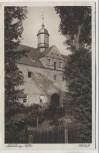 AK Mühlberg/Elbe Schloß Feldpost Stempel Landesschützen-Bataillon 1940
