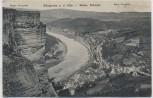 AK Königstein an der Elbe Ortsansicht Sächs. Schweiz 1926
