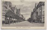 AK Hanau am Main Jahnstraße mit Turnhalle 1918