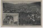 AK Zell im Odenwald Ortsansicht mit Hotel und Pension Eulbacher Hof b. Bad König 1914