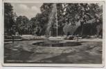 AK Foto Ostseebad Kolberg Frühkonzertplatz mit Fontäne Kołobrzeg Pommern Polen 1941