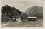 AK Foto Reit im Winkel Alpengasthof Seewiese b. Ruhpolding Traunstein 1938 RAR
