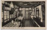 AK Nürnberg Bratwurstglöcklein Lokal mit Stammtisch der alten Meister 1933
