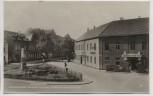 AK Foto Elsterwerda Denkmalsplatz Berliner Strasse Hotel Preussischer Hof 1936