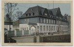 AK Limbach in Sachsen Kaiserliches Postamt mit Menschen Feldpost 1914