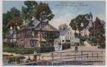 AK Raschau im sächsischen Erzgebirge Idyll am Gasthaus zur Hirtbrück b. Markersbach Schwarzenberg 1924