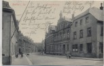 AK Hartha in Sachsen Bismarckstrasse mit Kindern Feldpost 1914