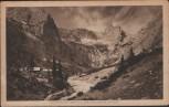 AK Unterkunftshütte am Höllentalanger Höllentalhütte b. Garmisch-Partenkirchen 1920
