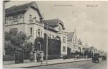 AK Burg b. Magdeburg Kaiser-Friedrichstraße 1915 RAR