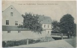AK Gruss aus Niederfrohna Restauration zum Sächsischen Jäger b. Limbach Feldpost 1915 RAR