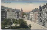 AK Aue im Erzgebirge Wettiner-Platz 1919