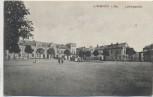 AK Limbach in Sachsen Ludwigsplatz mit Menschen Feldpost 1916