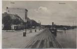 AK Pillau Hafenpartie mit Schiff Baltijsk Ostpreußen Russland Feldpost 1917 RAR