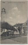 AK Pillau Leuchtturm mit Denkmal des Großen Kurfürsten Baltijsk Ostpreußen Russland Feldpost 1917