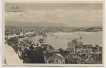 AK Split Spalato Ortsansicht mit Hotel Ambasador Kroatien 1930