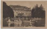 VERKAUFT !!!   AK Friedrichshafen Bodensee Kurgartenhotel mit Booten Kurgarten Hotel 1920