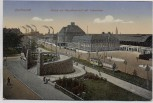 AK Dortmund Partie am Hauptbahnhof mit Fehmlinde 1922
