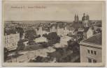 AK Naumburg an der Saale Kaiser-Wilhelm-Platz 1916