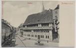 AK Stolberg im Harz Rathaus mit Hotel zum Kanzler 1910