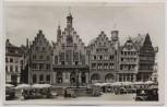 AK Foto Frankfurt am Main Der Römer mit Marktleben 1935