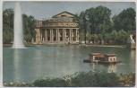 AK Foto Stuttgart Kgl. Hoftheater Anlagensee XIV. Verbandstagung der Tierschutz-Vereine des Deutschen Reiches Offizielle Postkarte 1914