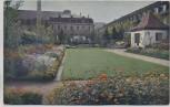 AK Foto Stuttgart Offizielle Postkarte Nr. 17 Württbg. Gartenbauaustellung Der Sonnige Garten 1924