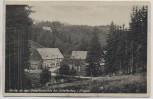 AK Schellerhau im Erzgebirge Partie an der Schellermühle b. Altenberg 1929