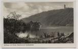 AK Foto Gemünd (Schleiden) Urfttalsperre in der Eifel Hotel Restauration Lorbachtal 1940