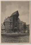 AK Danzig Krantor Gdańsk Polen 1940