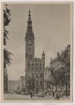 AK Danzig Langer Markt mit Rathaus Gdańsk Polen 1940