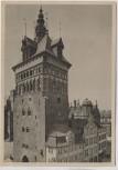 AK Danzig Stockturm Gdańsk Polen 1940