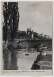AK Foto Fritzlar an der Eder Malerischer Blick an der alten Steinbrücke 1940