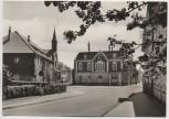 VERKAUFT !!!    AK Foto Worbis Eichsfeld Evangelische Kirche und Blick zur Burgstraße 1972
