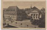 AK Bad Elster Sachsenhof und Kurtheater 1920