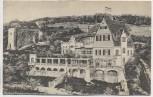 AK Solbad Frankenhausen am Kyffhäuser Ruine und Gasthaus Frankenburg 1915