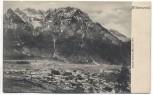 AK Mittenwald mit Karwendel 1904