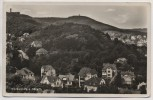 AK Foto Blankenburg am Harz Ortsansicht 1938