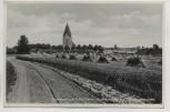 AK Foto Ostseebad Insel Poel Kirche mit Wallanlagen aus dem 17. Jahrhundert 1931