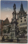 AK Köln Standbild Jan van Werth auf dem Altmarkt 1916