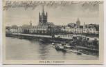 AK Köln am Rhein Frankenwerft mit Dampfer 1925