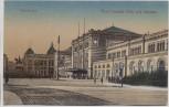 AK Hannover Ernst August Platz mit Bahnhof 1917