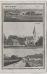 AK Bissendorf 1. Bezirks-Turnfest Total Kirche Dorfstrasse 1914 RAR