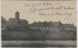 AK Brügge Bruges Abtei St. Andreas Kirche Leichtkranken-Abt. Feldpost Belgien 1917 RAR