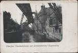 AK Wuppertal Elberfeld Eisenbahnbrücke und Schwebebahnhof Doppersberg 1917