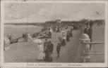 AK Kurort u. Seebad Travemünde Strandpromenade Menschen 1915
