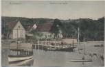 AK Wallhausen Gasthaus zum Schiff Boote und Menschen b. Konstanz 1910 RAR