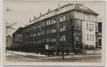 AK Foto Hamburg Ohlsdorf Hausansicht viele Fahnen 1942 RAR