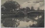 AK Eythra Elster-Brücke b. Zwenckau Bahnpost 1910 RAR