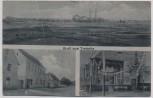 AK Gruß aus Trebnitz Ortsansicht Gasthaus b. Teuchern 1920